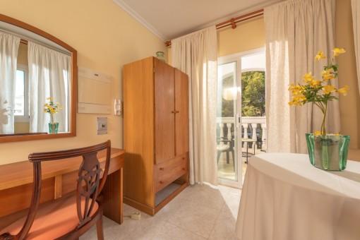 Schlafzimmer, Apartment 1