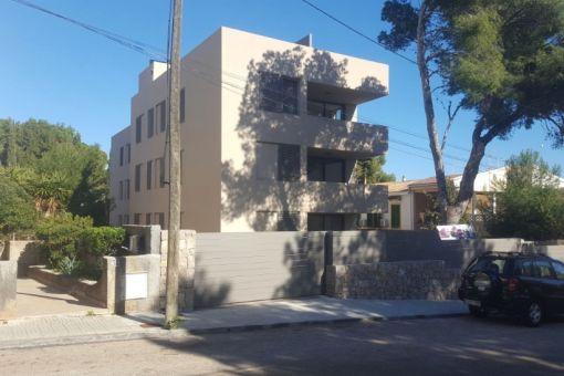 Hübsche Erdgeschoss Neubauwohnung mit schönem Garten in Cala Ratjada