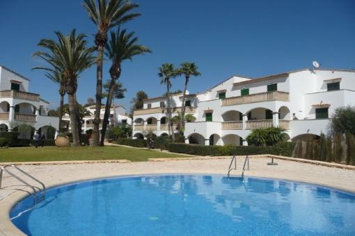 Gemütliche Ferienwohnung in einer beliebten Wohnanlage mit Pool in Strandnähe von Cala Santanyí