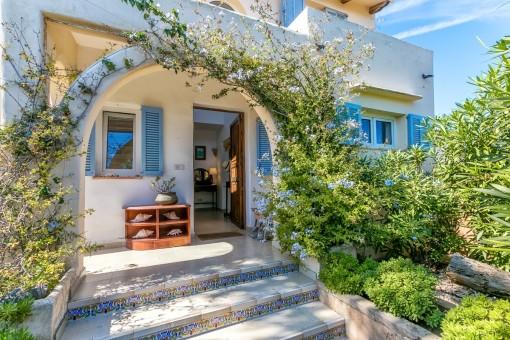 Große herrschaftliche Villa mit Ferienvermietlizenz auf der beliebten Halbinsel Sa Punta, Portocolom