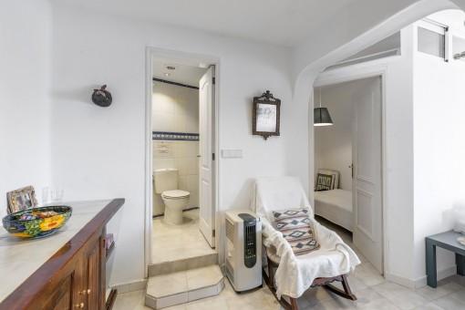 Zweites Badezimmer und Schlafzimmer