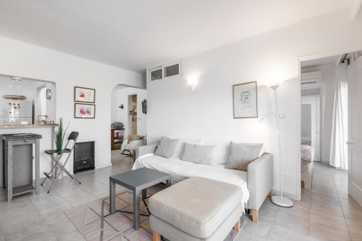 Alternative Wohnzimmer-Ansicht