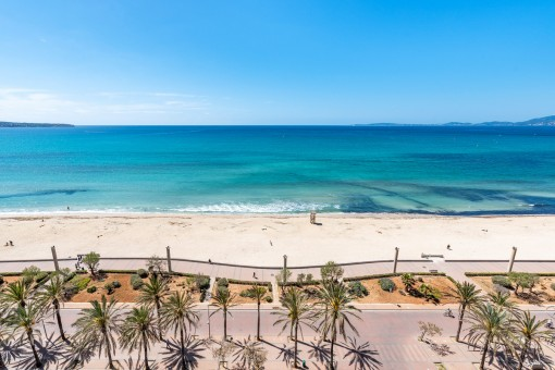 Traumhaftes Tiny-Penthouse in erster Meereslinie an der Playa de Palma