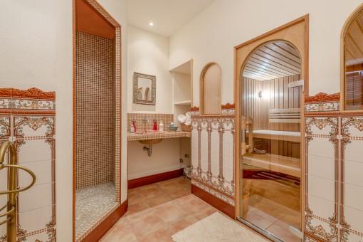 Fantastischer Spa und Sauna Bereich zum Entspannen