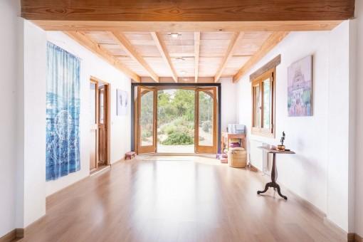 Yoga Zimmer zum Entspannen