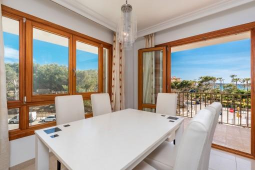 Sehr schön renovierte Wohnung mit Meerblick an der Playa de Palma