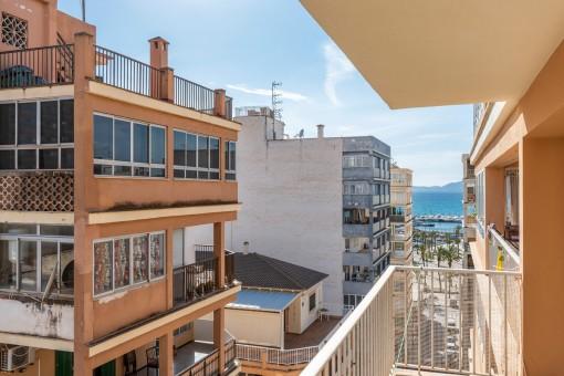 Apartment zum Renovieren in unmittelbarer Strandnähe an der Playa de Palma