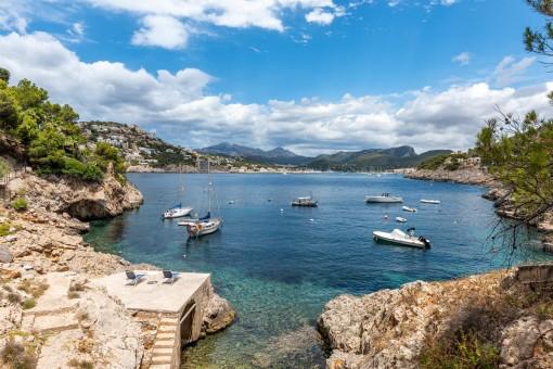 Wunderschöne Villa mit direktem Zugang zum Meer in Port Andratx
