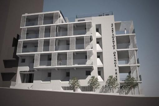 Hostal mit Basisprojekt zum Ausbau als touristische Apartements