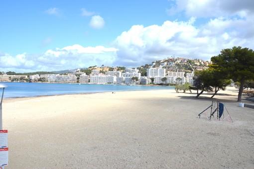 Strand 2 Minuten entfernt