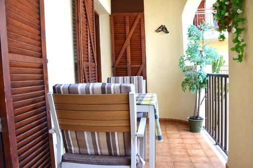 Terrasse mit Sitzecke
