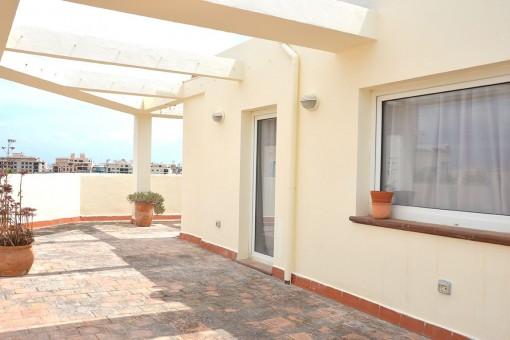 Duplex Penhouse-Wohnung mit herrlicher Aussicht in Camp Redo, Palma