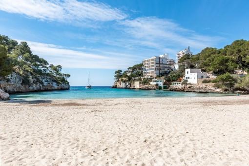 Strand von Cala Santanyi