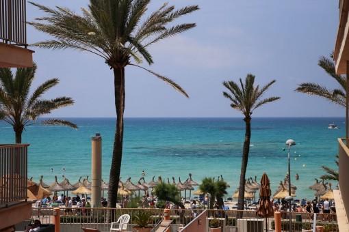 Meerblick-Wohnung mit 3 Suiten an der Playa de Palma