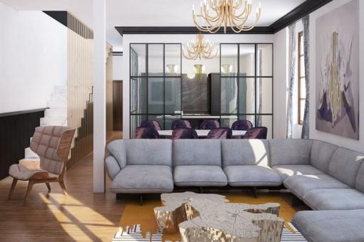 Luxuriöses, komplett renoviertes Haus in der Altstadt von Palma