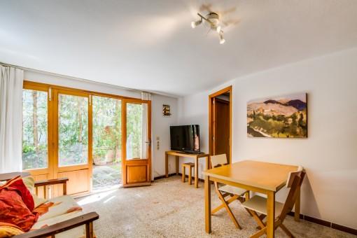 Apartment mit Terrassenzugang