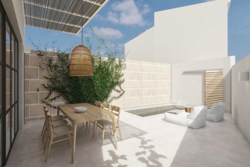 Erstklassig renoviertes Stadthaus zum Erstbezug in Ses Salines