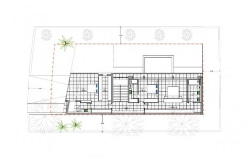 Grundriss - Erste Etage