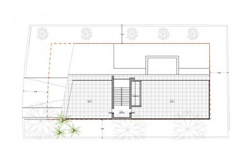 Grundriss - Zweite Etage