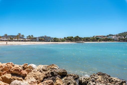 Der Strand von Santa Ponsa