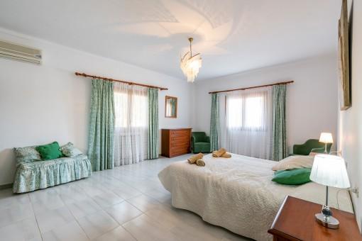Eines von 6 Schlafzimmern