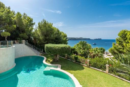 Einzigartige Luxusvilla in erster Meereslinie in Costa de la Calma
