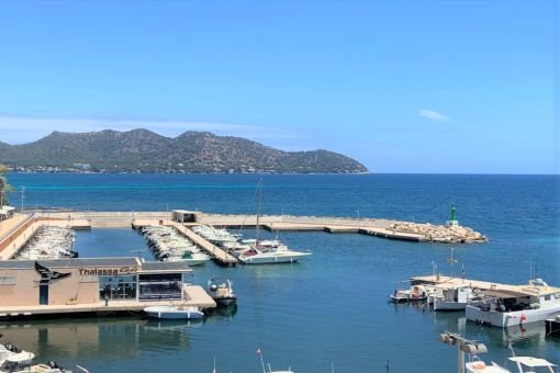 Fantastische Wohnung direkt am Meer mit herrlicher Aussicht in Cala Bona