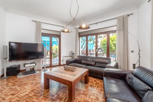 Schöne, moderne und große Wohnung in einer sehr zentral gelegenen Gegend Palmas