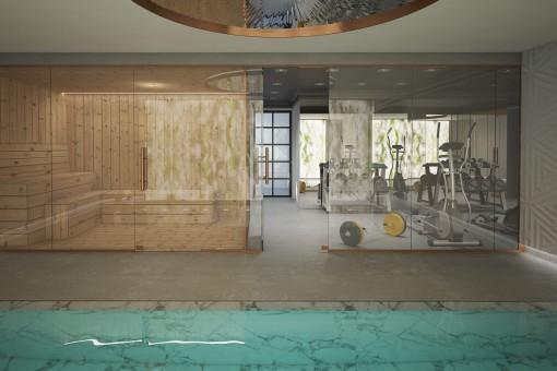 Fantastischer Spa und Sauna Bereich