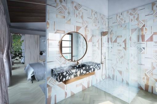 Schönes Badezimmer en Suite