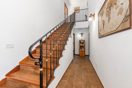 Flurbereich und Treppenaufgang