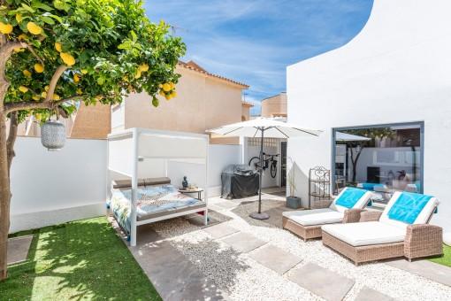Chalet im minimalistischen Loftstyle in Sa Torre