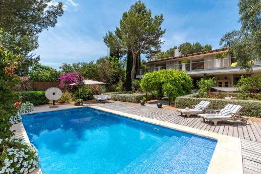 Wunderschöne Villa mit viel Privatsphäre und idyllischer Umgebung in Sol de Mallorca