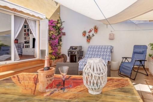 Hübsches Reihenhaus in guter Lage mit Ferienvermietlizenz in Ses Salines