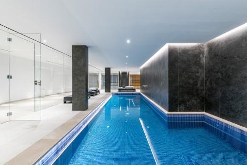 Pool und Sauna