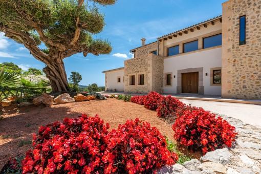 Alternative Außenansicht der Villa