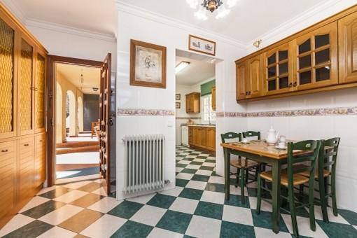 Essbereich der Küche