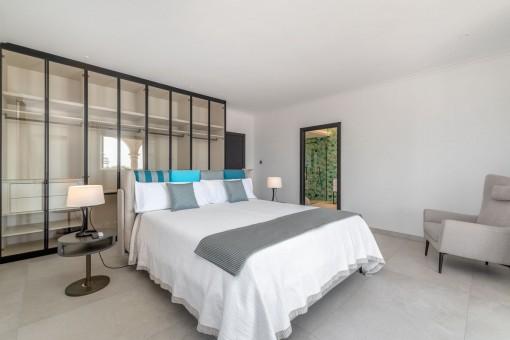 Hauptschlafzimmer mit Bad en Suite