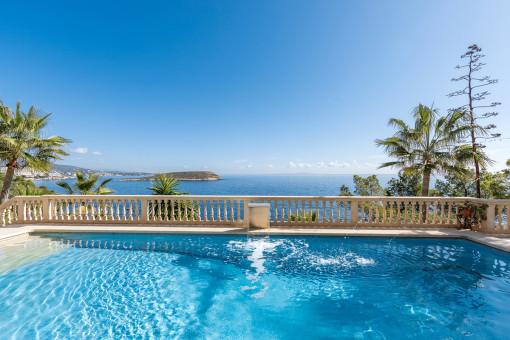 Herrliche, luxuriöse Villa in Cala Vinyas