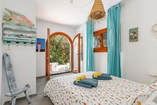 Eines von 2 Schlafzimmern