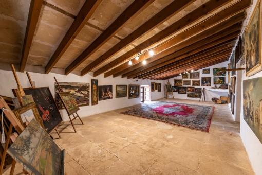 Obergeschoss mit Galerie
