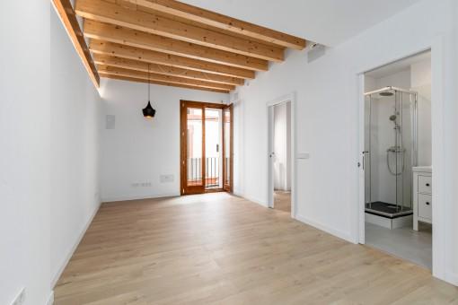 Frisch renovierte Wohnung in einer ruhigen Straße im La Lonja Viertel von Palma