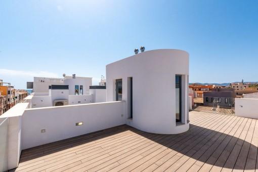 Modernes Neubau-Reihenhaus mit Gemeinschaftspool und in Strandnähe in El Molinar