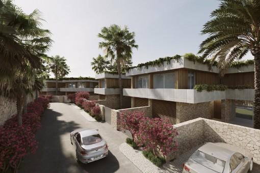 Hochwertige Luxusvilla in exklusiver Wohnanlage in Sol de Mallorca
