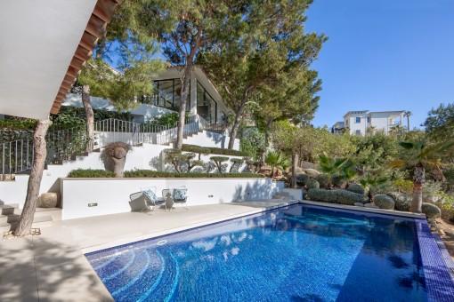 Schönes Anwesen mit modernem Flair in spektakulärer Lage in Port Andratx