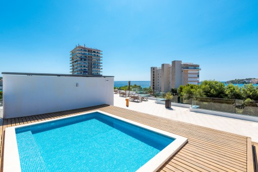 Wunderschöne renovierte Wohnung fußläufig zum Sandstrand von Palmanova