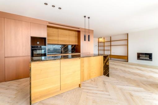 Stilvolle und moderne Küche