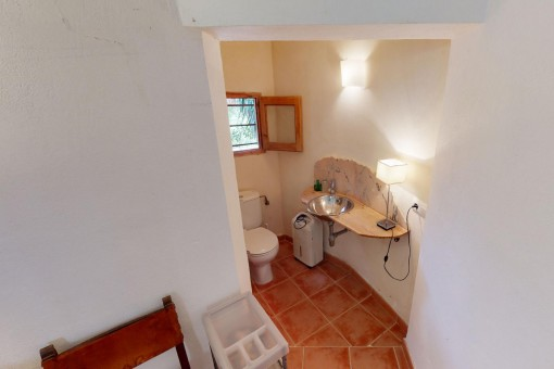 En-Suite-WC des Hauptschlafzimmers