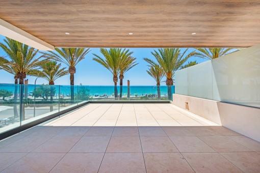 Luxus Beach- Apartment in 1.Linie an der Playa de Palma-Kaufen