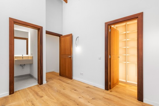 Zweites Schlafzimmer mit Bad en suite